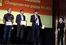 WACKER NEUSON awarded the « Grands Prix du Matériel 2018 » DLR / Chantiers de France