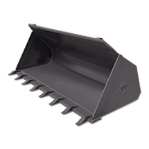 Attachment tools for Wheel Loaders - General Purpose Bucket with Teeth