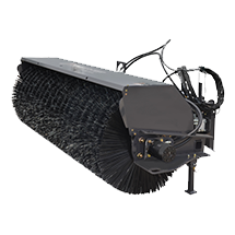 Attachment tools for Wheel Loaders - Angle Broom
