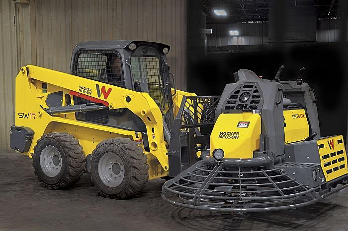 CRT60-74LX easily forklifted from either side via structural forklift pockets