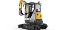 Wacker Neuson EZ26 zero tail excavator with cabin