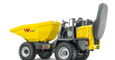 wheel dumper dw50 with rops down