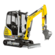 Tracked Conventional Tail Excavators - ET18