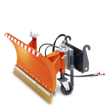 Attachment tools for Telehandlers - Snow plough
