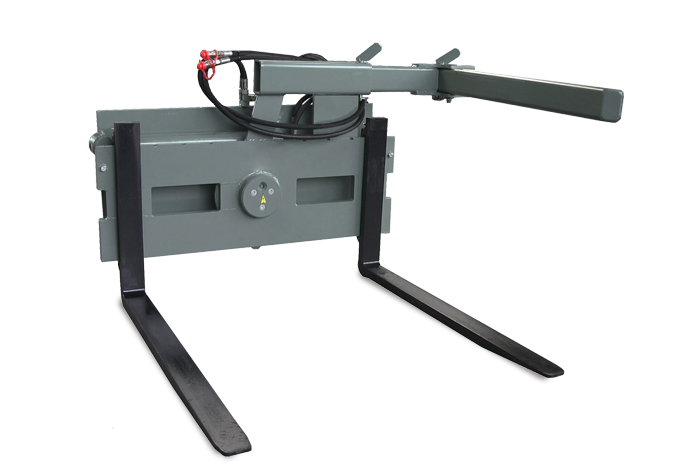 Pallet fork with rotating device