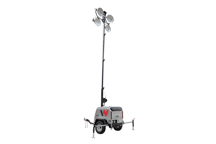 Light Towers - Compact Vertical Mast