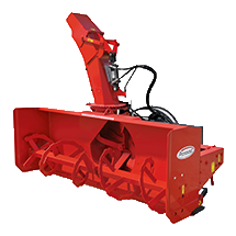 Attachment tools for Wheel Loaders - Heavy Duty High Flow Snow Blower