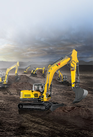 Excavators: 1 to 14-ton, best-in-class breakout force!