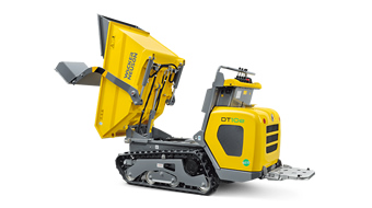 zero emission electric dumper DT10e