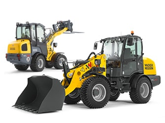 [Translate to French:] Wacker Neuson Wheel Loader product range