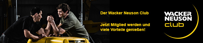 [Translate to French:] Wacker Neuson Club