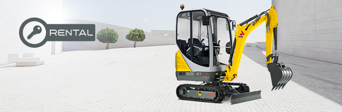 Rent Wacker Neuson Construction Equipment